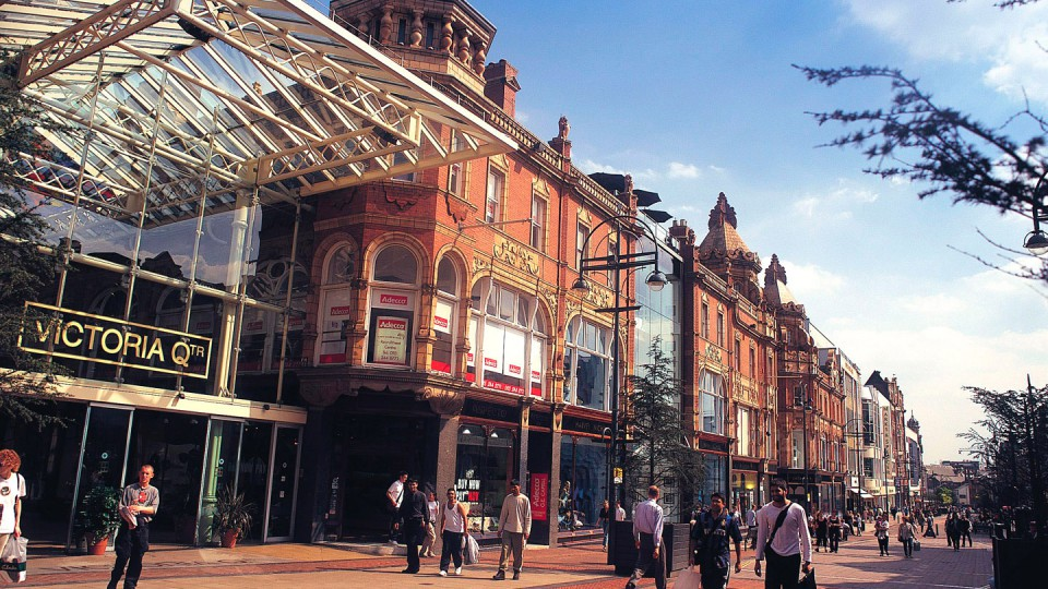 The Victoria Quarter, Briggate.